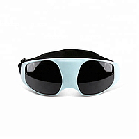 Массажные очки SUNROZ Massage Glasses для глаз Голубой (SUN2321), фото 1