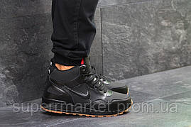 Кроссовки Nike черные  зима , код6589, фото 2