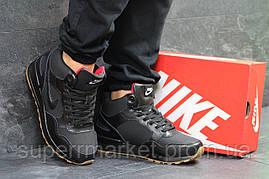 Кроссовки Nike черные  зима , код6589, фото 3