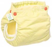 Подгузник трикотажный Active Premium 3-6, со вкладышем Abso Maxi (желтый), Эко Пупс (ТП3ВК4-1ж)