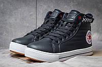 Зимние ботинки на меху Converse Waterproof, темно-синий (30492),  [  41 42 44  ]