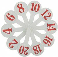 Набор цифр от 1 до 20 (веер), ZiBi (ZB.4900)