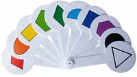 Набор цветов и геометрических фигур (веер), ZiBi (ZB.4904)