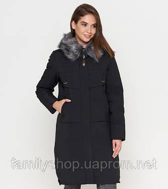 Tiger Force 8967 | Женская зимняя куртка черная, фото 2