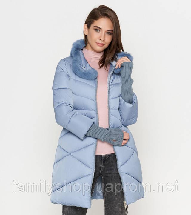Tiger Force 2108 | Зимняя женская куртка голубая