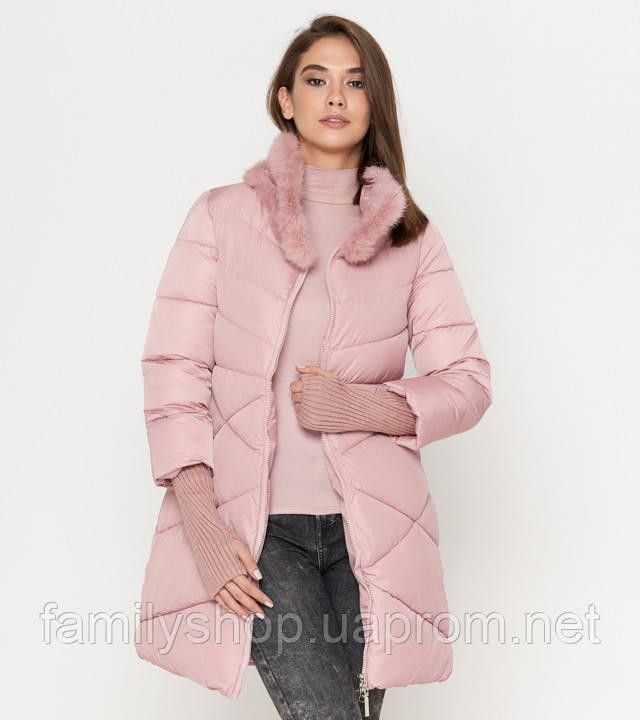 Tiger Force 2108   Женская куртка на зиму пудра