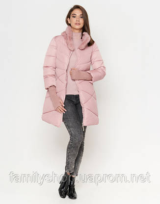 Tiger Force 2108   Женская куртка на зиму пудра, фото 2