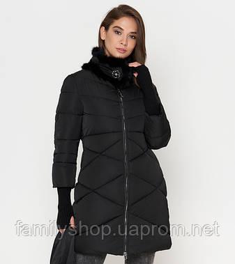 Tiger Force 2108 | Зимняя куртка для женщин черная, фото 2