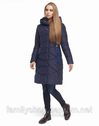 Tiger Force 5058 | Куртка зимняя женская синяя, фото 2