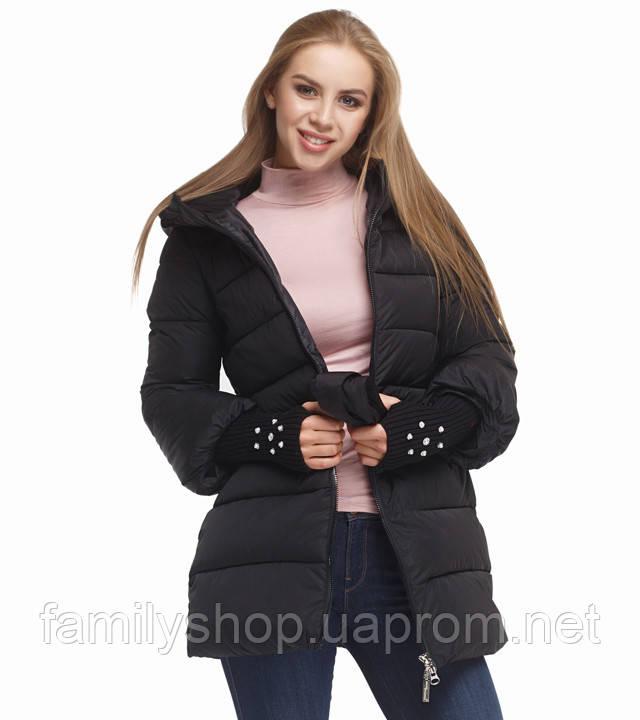Tiger Force 5219 | Женская куртка на зиму черная