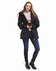 Tiger Force 5219 | Женская куртка на зиму черная, фото 2