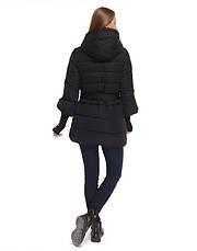 Tiger Force 5219 | Женская куртка на зиму черная, фото 3