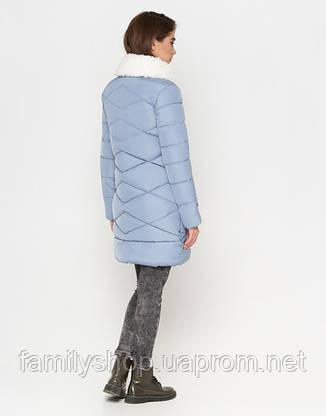 Tiger Force 5266 | Женская куртка на зиму голубая, фото 2