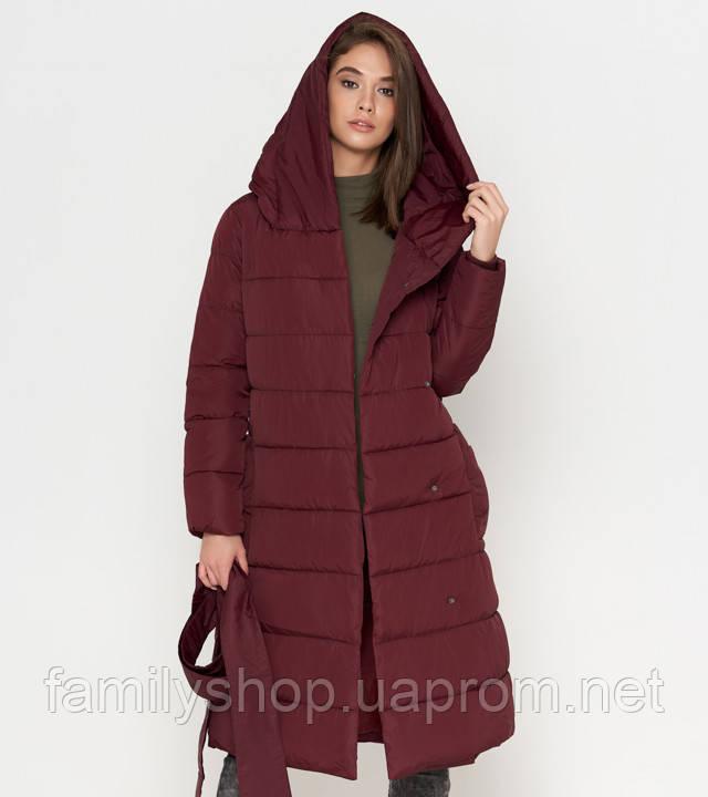 Tiger Force 8806 | Зимняя женская куртка бордовая
