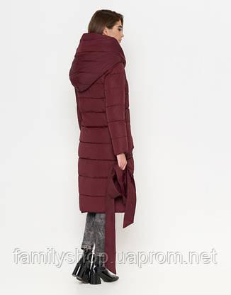 Tiger Force 8806 | Зимняя женская куртка бордовая, фото 2