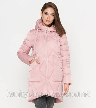 Tiger Force 9091 | Женская куртка на зиму пудра, фото 2