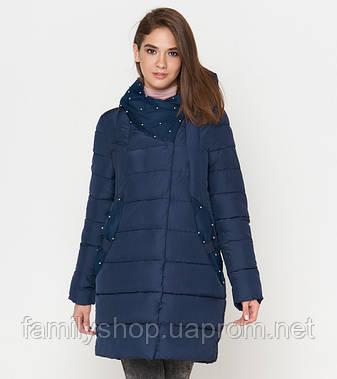 Tiger Force 9105 | Женская куртка зимняя синяя, фото 2