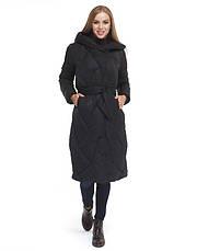 Tiger Force 9131 | Теплая женская куртка черная, фото 2