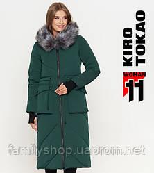11 Kiro Tokao | Куртка зимняя женская 1808 зеленая