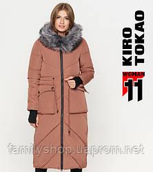 11 Kiro Tokao | Зимняя женская куртка 1808 какао