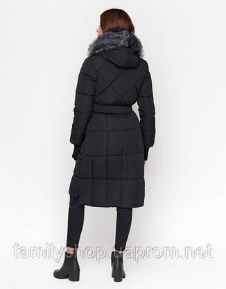 11 Киро Токао | Куртка зимняя женская 18013 черная, фото 2