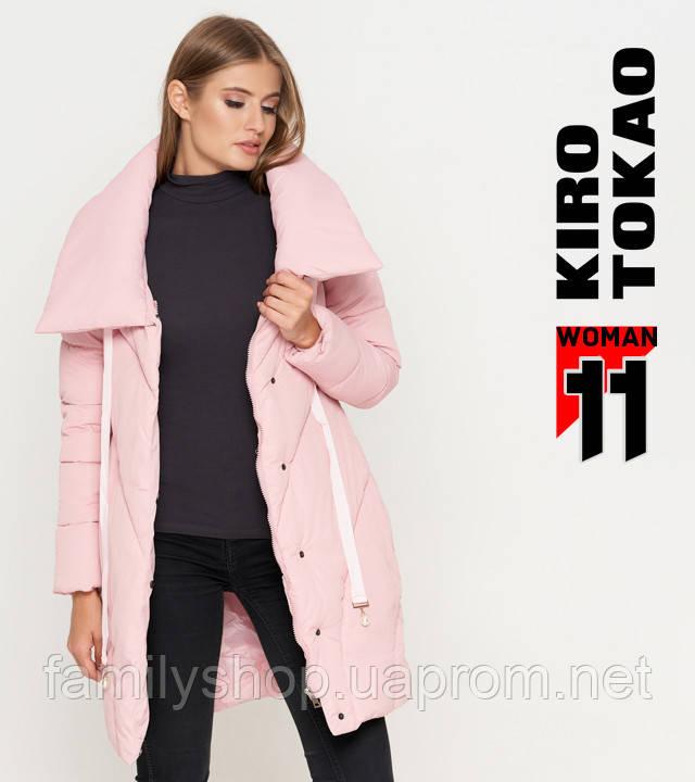 11 Kiro Tokao | Зимняя женская куртка 808 пудра