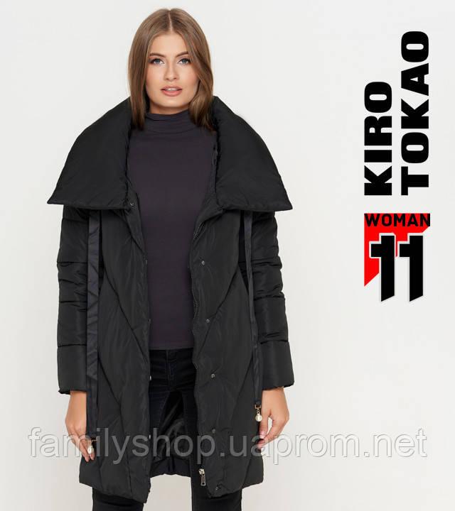 11 Киро Токао | Женская куртка на зиму 808 черная