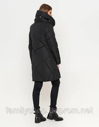 11 Киро Токао | Женская куртка на зиму 808 черная, фото 2