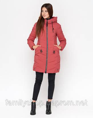 11 Kiro Tokao | Теплая женская куртка 806 розовая, фото 2