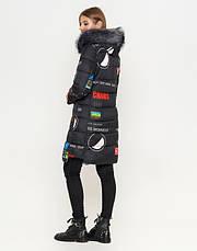11 Kiro Tokao | Зимняя двусторонняя женская куртка 8107 серая, фото 3