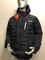 Мужская зимняя куртка из плащевки реплика