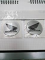 Силиконовая 3D мото  наклейка HONDA