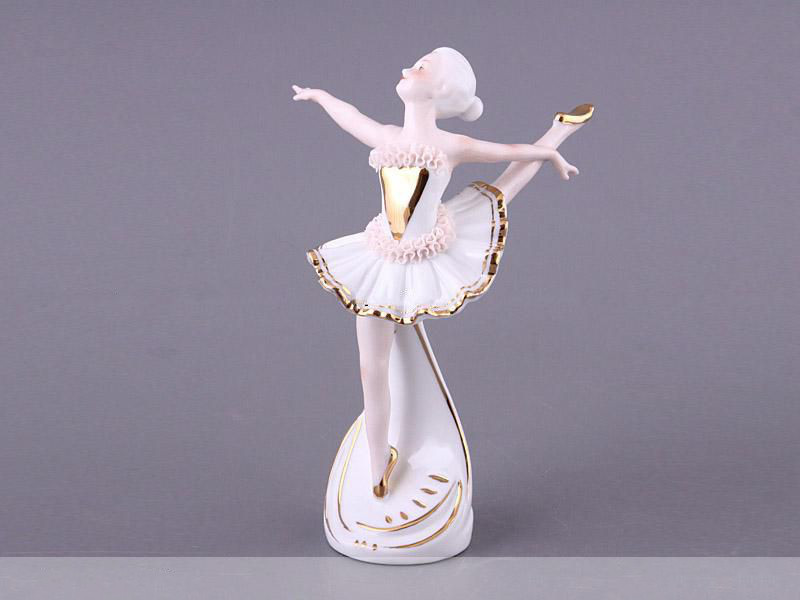 Статуэтка Балерина 18 см фарфор