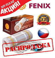 Fenix 10,2 м (5,1 м²) 810 Вт Нагревательные маты Теплый пол электрический под плитку, фото 1