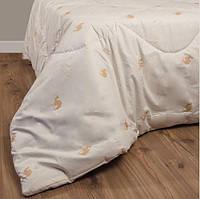 Одеяло шерстяное стеганное из верблюжьей шерсти 230х210