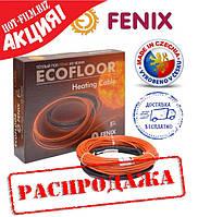 Fenix 100,4м пог(9,4-13,2м²)1,7 кВ Теплый пол электрический под плитку Греющий нагревательный кабель