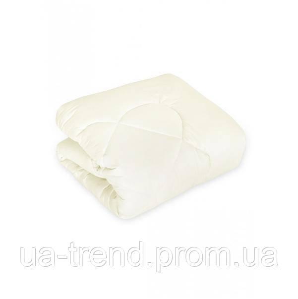 Одеяло белого цвета силикон 190х210