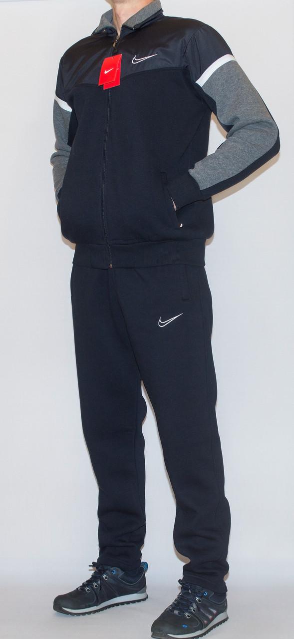 Мужской утепленный спортивный костюм NIKE (копия) XXL