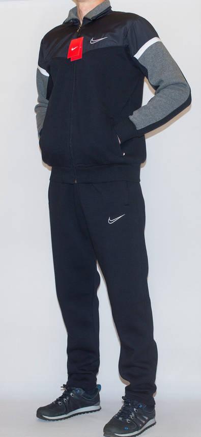 Мужской утепленный спортивный костюм NIKE (копия) XXL, фото 2