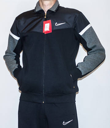 Мужской утепленный спортивный костюм NIKE (копия) XXL, фото 3