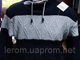 Зимний модный свитер под горло  Taiko