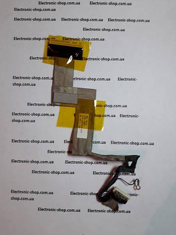 Шлейф  LCD MSI U90X    оригинал б.у, фото 2