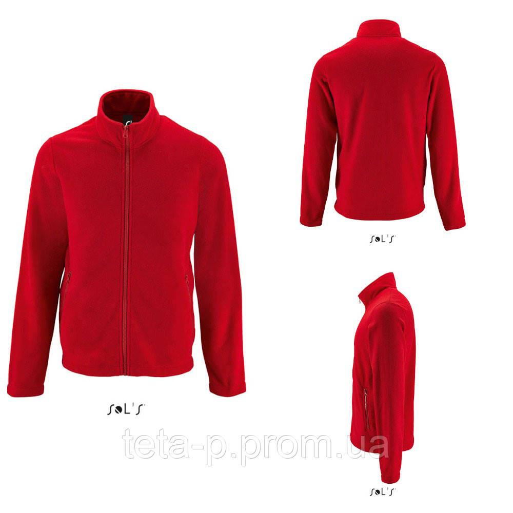 Однотонная мужская куртка из флиса NORMAN MEN