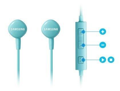 Гарнитура Samsung EO-HS1303 для смартфона Android и iPhone голубой
