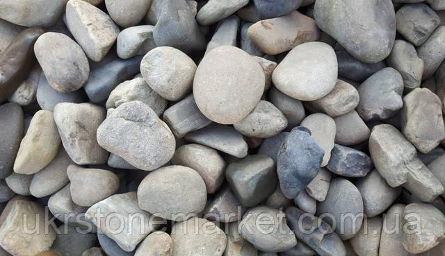 Галька річкова валун Подільський камінь