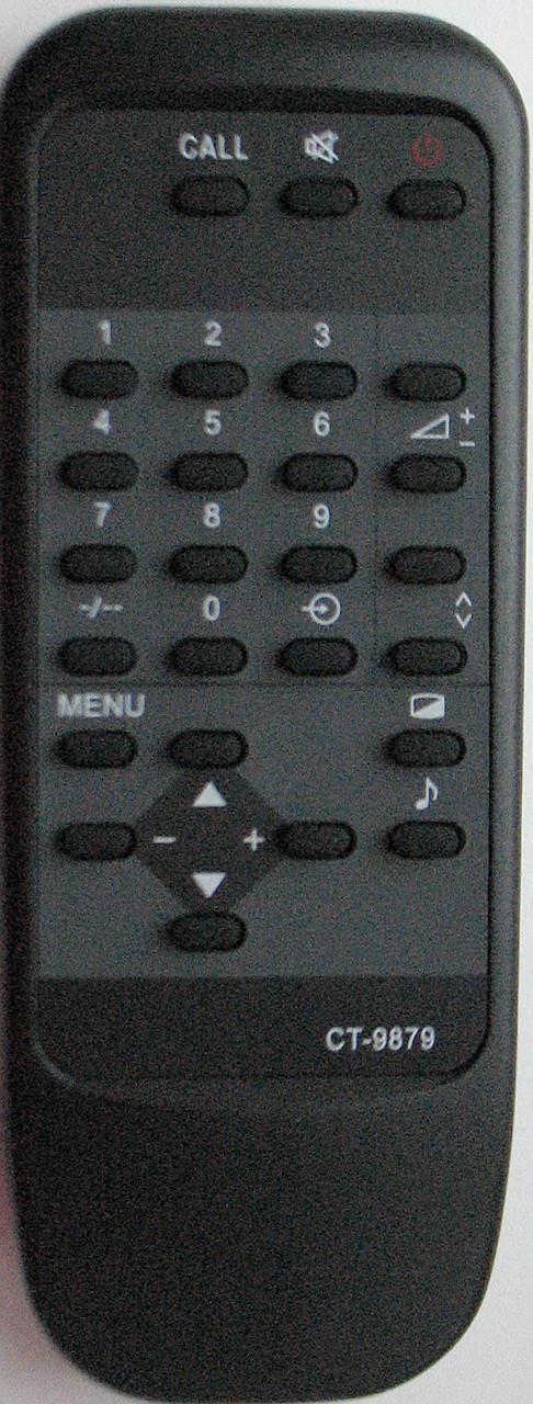 Пульт от телевизора TOSHIBA. Модель CT-9879