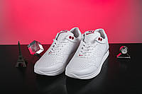 Женские кроссовки кожаные весна/осень белые на шнурках Onward 212