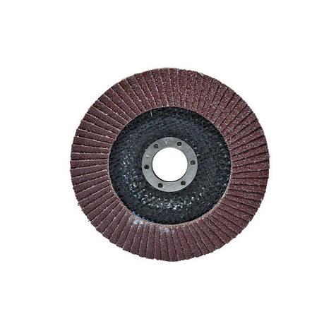 Диск шлиф, лепестковый 125*22 мм зерно 100 Htools 62K110 , фото 2
