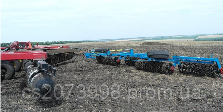 Каток кольчато-шпоровой гидрофицированный  ККШ-9,2Г