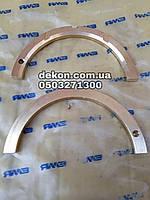 Полукольцо упорное коленчатого вала  ЯМЗ 236 -1005183 производство ЯМЗ